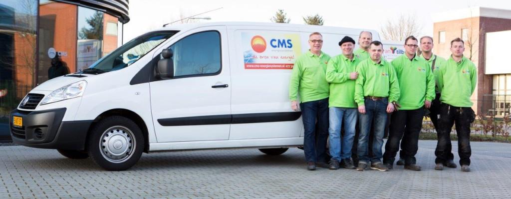 CMS montageteam