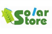 logo solar store vierkant